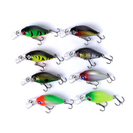 $enCountryForm.capitalKeyWord Australia - HENGJIA New Crankbait Fishing lure 8pcs 50mm 4.4g 0.3-0.6m Wobbler Floating Crank Baits Artificial Hard Fishing Lure Saltwater Free shipping