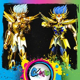 Armor Products Australia - CMT Restock MetalClub Model Cancer Deathmask Saint Seiya metal armor Myth Cloth Gold Ex2.0 Action Figure Anime Toys Figure