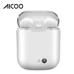 China Aicoo Tws i7s Crystal II Twins Earbuds Wireless Bluetooth Earphones Universal Headsets Stereo Headphones for iPhone Samsung Retail Package suppliers