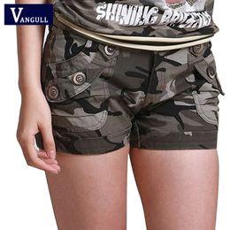 $enCountryForm.capitalKeyWord Australia - Vangull Camouflage Shorts 2018 Women Slim Fit Military Ladies Girls Zipper Pocket Mini Shorts Overalls Jeans Combat Cargo Shorts Y19072001