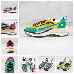 hot spring covers Australia - Hot Ldwaffle Sacai CD Sall UNDER COVER X Waffle Racer Fashion Running Shoes Net Surface Breathable Racing Shoes For Outdoor 36-45