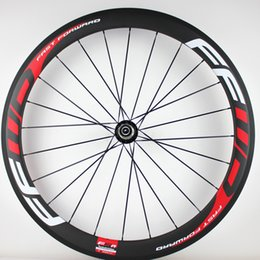 $enCountryForm.capitalKeyWord Australia - 23mm UD matt Carbon bike wheels 50mm FFWD F5R white line painting basalt brake surface clincher tubular road cycling bicycle wheelset