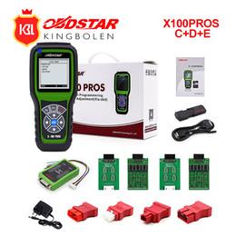 Engine Immobilizer System Australia - OBDStar Auto Key Programmer X100 PROS C+D+E model x-100 pros Key Programming Tool Support for Immobilizer +Odometer correction