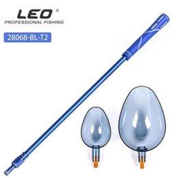 Mounchain 95cm Adjustable Fishing Net Retractable Aluminum Alloy Fishing Net Rod - M8 on Sale