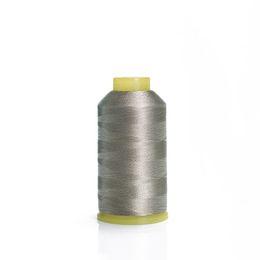 $enCountryForm.capitalKeyWord Australia - (100% silver fiber )Silver fiber sewing thread 70D 3 strands silver plated conductive embroidery thread 100g retail wholesale