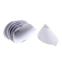 $enCountryForm.capitalKeyWord Australia - 50pcs Paint Coating Filter Paper Screen Net Filter Cone Strainer Funnel of Painting Environmental protection