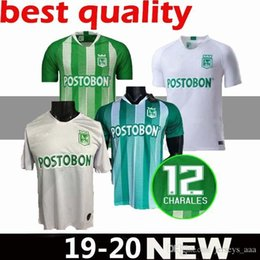 nacional jersey Australia - 19 20 Atletico Nacional Medellin H.BARCOS Soccer Jersey Colombia Club Medellin Home Football Tops Short Sleeve Sports Uniform Football Shirt