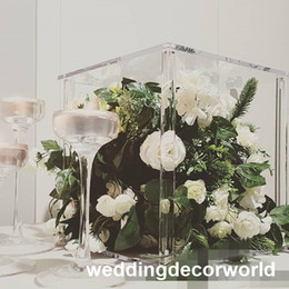 $enCountryForm.capitalKeyWord Australia - New style Wedding Party Table Decoration clear Candlestick crystal Candelabra Centerpieces Europe Style Home Decor Candle Holders decor1132