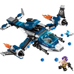 $enCountryForm.capitalKeyWord Australia - 275pcs Children's Building Blocks Toy Compatible City Police Series Secretly Arrested Helicopter Combat Aircraft Bricks MX190731