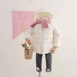 Wholesale Kids Down Jacket Coat Baby Girl Winter Tops For Children Outerwear Beautiful Clothing Casual Baby Girls Autumn Winter Parkas