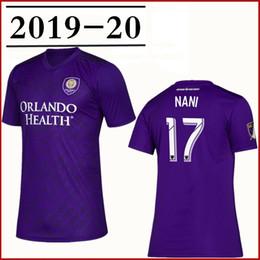 eb9d245fdcf 2019 Men Orlando City SC Nani Purple Soccer Jersey Nani J.Mendez Dwyer  Mueller Patino Colman boys Football shirt kids kits