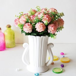 $enCountryForm.capitalKeyWord Australia - 1 Bouquet 29cm Artificial Simulation ball Chrysanthemum Small bunch DIY Wedding Bridal Bouquet Home Table Decor Fake Flower