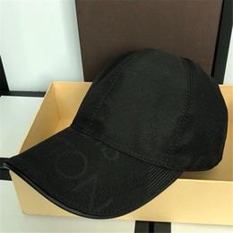 Printed Ball Caps Australia - Classic Luxury Baseball Caps with Box France Design Fashion Casual Adjustable Hats Spring Golf Sun Cap Fall Men Women Print Ball Hat