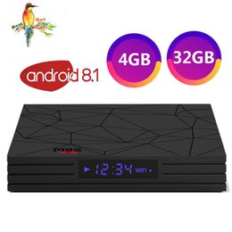 Media Player Australia - 2019 Android 8.1 TV Box Rockchip RK3328 4GB 32GB with Google Play Store Netflix Youtube M9S Y2 Smart IPTV BOX USB3.0 4K media player