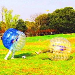 $enCountryForm.capitalKeyWord Australia - Free Shipping 1.5m TPU Bubble Soccer Set Air Bumper Ball Body Bubble Soccer Ball Inflatable Football Bubble For Outdoor Fun