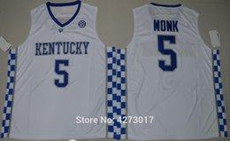 $enCountryForm.capitalKeyWord Australia - Mens College Basketball Jerseys Kentucky Wildcats 5 Malik Monk Jersey Blue White Stitched Sports Uniforms Free Shipping Ncaa