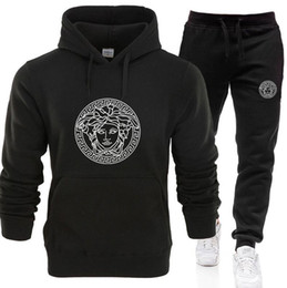 mens ski suits UK - New Tracksuits for Women Men Hoodies Sweatshirts Suits Fashion Autumn Man Hoodies Sweatshirts Mens Clothing unisex coat with pants G100734