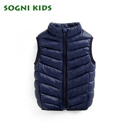 top winter baby girl year 2019 - 1-10 years Cotton Vest for Baby Girls Boys Winter Waistcoats Fashion Solid Jacket Children's Clothing Top Sleeveles