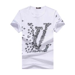 men pp clothing NZ - pp Summer mens designer t shirts Paris Patchwork Band Satin Ribbons T-shirt Fashion Men Women Clothing Cool Skateboard T Shirt Casual Tee
