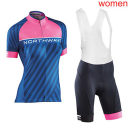 Women NW NORTHWAVE Pro Team short sleeve Cycling Jersey Bike shirts bib  shorts set MTB bicycle clothes 2018 ropa ciclismo 120505Y d9f8177f0
