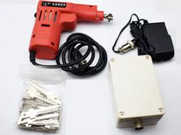 Dimple Lock Picking Canada - Origi Dimple lock Electronic Bump Pick gun with 22 pins for Kaba Lock ,Locksmith tools