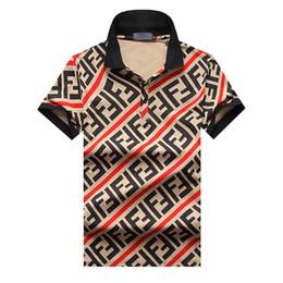 Опт 2019 Италия Роскошные Дизайнерские Футболки Дизайнерские Рубашки Поло High Street Вышивка Подвязки Змей Маленькая Пчелка Печать Одежда Мужская Марка Polo S