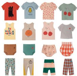 $enCountryForm.capitalKeyWord Australia - 2019 Summer Newborn Baby Boys Tops Tees Girls Set Infant Kids T-shirts Pants Boys Clothing Sets Cotton Clothes