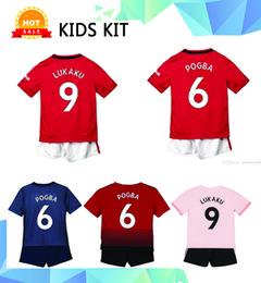 $enCountryForm.capitalKeyWord Australia - 19 20 #6 POGBA Kids Kit Soccer Jerseys 2019 Home Red ALEXIS Rashford children Soccer Shirt Away LUKAKU MARTIAL Football uniform Darmian