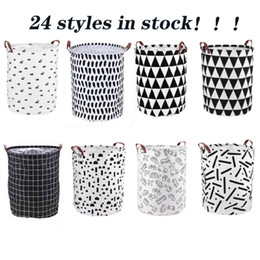 Canvas Storage Baskets Large Laundry Basket Canvas Fabric Laundry Basket Collapsible Storage Baskets for Home,Office,Toy Organizer on Sale