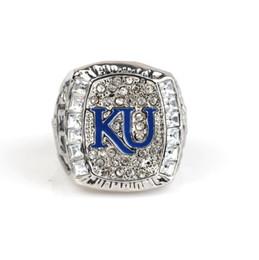 $enCountryForm.capitalKeyWord UK - NCAA 2008 University of Kansas Raven Eagle Championship Ring Men's Jewelry Friends Birthday Gift Fan Memorial Collection