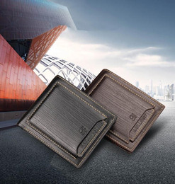 $enCountryForm.capitalKeyWord Australia - Purse For high quality New PU leather wallet men wallets clutch wallet Brown money clip men's leather wallet male purse