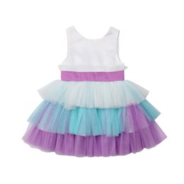 Chinese  Pudcoco Flower Kids Girl Dress Princess Formal Pageant Holiday Wedding Bridesmaid Lace Backless Party Gown Cake Dress Sundress manufacturers