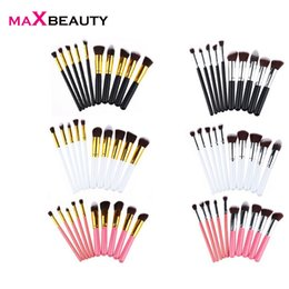 $enCountryForm.capitalKeyWord Australia - Fashion Girl Single Product 10 PCS Cosmetic Makeup Brush Brushes Set Foundation Powder Eye shadow makeup brush set