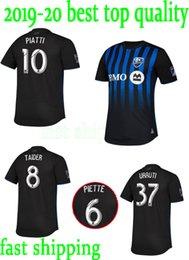 fast shipping new 2019 2020 thailand Montreal Impact Soccer jersey 19 20  Camisa PIATTI EDWARDS MANCOSU TAIDER Impact home football shirt c0855a7e7