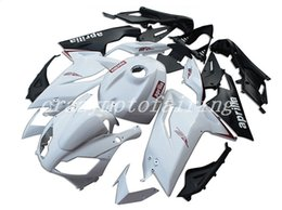 motorcycle aprilia fairing NZ - High quality New ABS Injection Mold motorcycle Fairings Kits 100% Fit For Aprilia RS125 06 07 08 09 10 11 2006-2011 bodywork set white