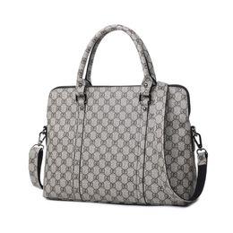 Briefcase 14 online shopping - Fashion Women Laptop Business Briefcase Ladies PU Leather Handbag Inch Women s Notebook Computer Portable Office Bag
