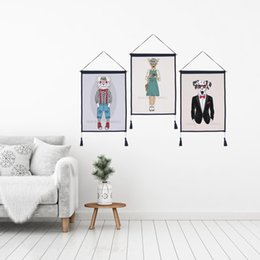 $enCountryForm.capitalKeyWord Australia - Decor Wall Scroll Hanging Tapestry Fashion Animals Hanging Painting,Sofa Background Hanging Cloth,Corridor,Porch,Electric Meter Box