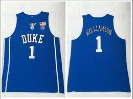 $enCountryForm.capitalKeyWord Australia - Duke Blue Devils College 2018 Basketball Jersey 1 Zion Williamson Blue Embroidered Swingman Jerseys