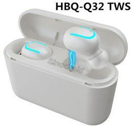 $enCountryForm.capitalKeyWord Canada - Bluetooth 5.0 Earphones TWS Wireless Headphones Blutooth Handsfree Earpiece Sports Earbuds Gaming Headset Phone HBQ-Q32 Music Earbuds