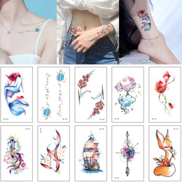 234070253ea9a Cute wrist tattoo online shopping - Small Cute Tattoo Design for Woman Kid  Waterproof Temporary Tattoo