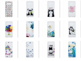 fashion cat iphone case UK - For Huawei P30 Pro Relief Soft TPU Case For Samsung S10 Lite Plus Flower Dog Elephant Panda Owl Tree Cat Unicorn Fashion Phone Skin Cover