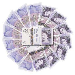 Toptan satış Toptan Prop Pretend İngiltere Para Kağıt Kopyalama Banknot Prop Para 100 adet / paket