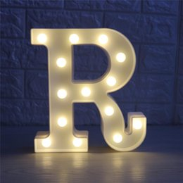 $enCountryForm.capitalKeyWord NZ - Letter Light G White LED Night Light Marquee Sign Alphabet Lamp For Birthday Wedding Christmas Party Bedroom Wall Decor led Light