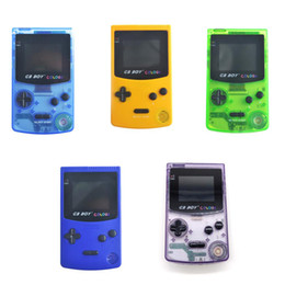 Wholesale player boy for sale – custom GB Boy Colorful Color Handheld Game Player quot Portable Classic Game Console Consoles With Backlit Built in Games Video game