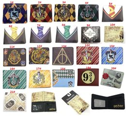 $enCountryForm.capitalKeyWord Australia - 21 styles Harry Potter Anime Game Wallet Student Kids Short Purse Creative Gift Children wallet bags Cartoon Wallet with Zipper Coin Pocket