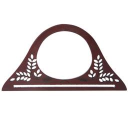 $enCountryForm.capitalKeyWord UK - Wood Handle Purse Frame Wooden Bag Handle DIY Handbag Accessories
