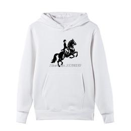 Cool Sweatshirt Jackets Australia - New Girl Horse Rider Racings Fashion Print Hoodie Unisex Casual Hoody Fleece zipper Sweatshirts Spring autumn Men Cool jacket