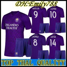 448f37ca387 adult kits 2019 2020 MLS Futbol Club Orlando City home Soccer Jersey 19 20 Orlando  City home men jerseys uniforms Football Shirt Kit Maillot
