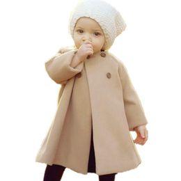 $enCountryForm.capitalKeyWord Australia - Autumm Winter Trench Coats For Girls Overcoat Kids Clothes Windbreaker Baby Palto Jackets Children Clothing Cocuk Girl Outerwear