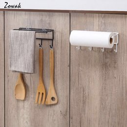Bathroom Hardware 1pc Door Back Roll Raper Holder Toilet Tissue Holdidng Rack Storage Hanger For Bathroom Kitchen White With The Best Service Bathroom Fixtures